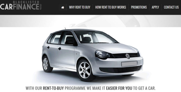 Blacklisted Car Finance South Africa
