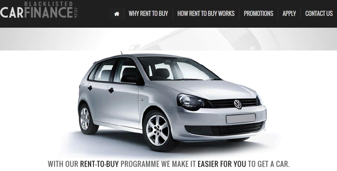 Blacklisted Car Loans In Johannesburg