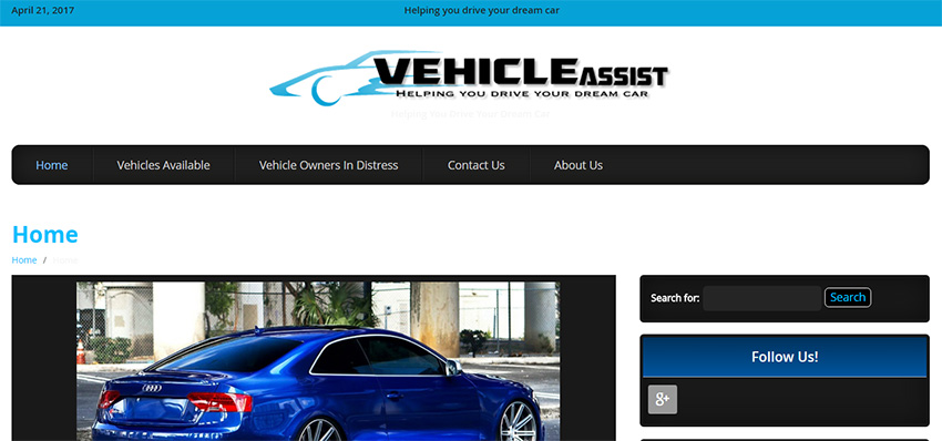 vehicle assist rent to own cars