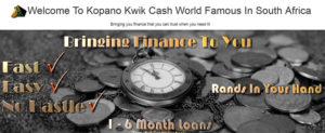 Kopano Kwik Cash loans