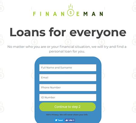 finance man