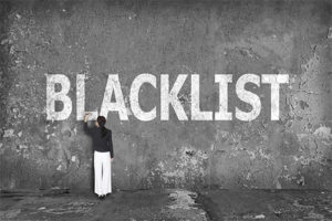 blacklisted loans
